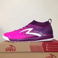 Sepatu Futsal Specs Barricada Magna IN - Scandinavian Pulm Purple Whit