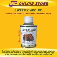 LATREX 400 EC Obat Anti Rayap dan Kumbang Kayu Formulasi Baru