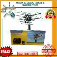 ANTENA TV DIGITAL REMOTE & BOOSTER PF 850 FREE KABEL 10M