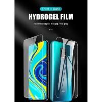 Hydrogel Anti Gores Film 2 in 1 Xiaomi Redmi Note 9 Pro Screenguard