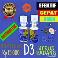 Obat virus kucing antibiotik D3