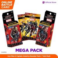 Marvel Mega Pack - 5DX Legacy AR Battle Cards