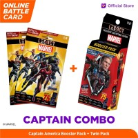 Marvel Captain Combo - 5DX Legacy AR Battle Cards