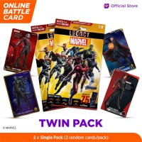 Marvel Twin Pack - 5DX Legacy AR Battle Cards