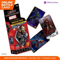 Marvel Iron Man Booster Pack - 5DX Legacy AR Battle Cards