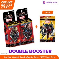Marvel Double Booster - 5DX Legacy AR Battle Cards