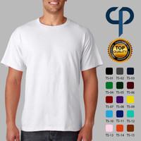 Kaos Polos Premium Full Cotton Combed 30s (XXL - XXXL) - XXL