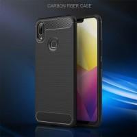 Armor Carbon TPU Case VIVO Y95 - Casing Black Soft Cover