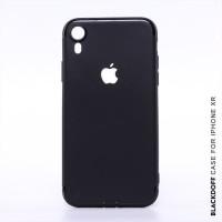 slim black mate iphone 6 soft case babyskin anti slip - logo apple