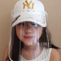 BAJUKIDDIE NY GUCCI CAP topi fashion branded face shield masker virus