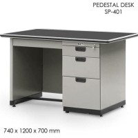Alba Meja Kantor Sp-401 Pedestal Office Desk Meja Komputer