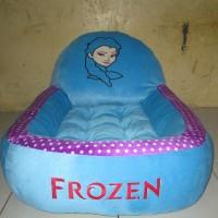 Kasur Bayi Biru Karakter Frozen Motif Polkadot Tokosari22
