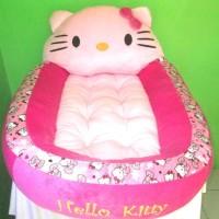 Kasur Bayi Karakter Boneka Hello Kitty Motif Polkadot Tokosari22