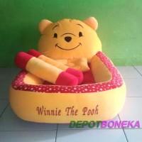 Kasur Bayi Karakter Boneka Winnie The Pooh Motif Polkadot Nadiastore66