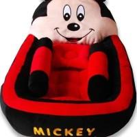 Kasur Bayi Lucu Karakter Mickey Mouse Merah Miftahanggraini43