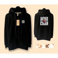 Jaket Hoodie Zipper Premium Jackie Chan China Kungfu Legend