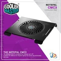 Cooler Master Notepal CMC3 Silent Cooling Pad Fan Laptop 14 -15