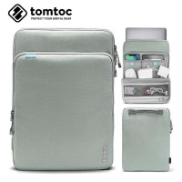 Tas Laptop Tablet iPad Sleeve Tomtoc Protective Case 14 15 inch- abu