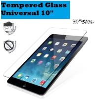Advan Sketsa 10 Inch Universal Tempered Glass Anti Gores Kaca Bening