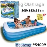 Bestway 54009 Kolam Renang Karet Anak Keluarga Besar 305 cm Size Jumbo