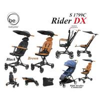 Babyelle RIDER SP LT DX Special Edition Leather BABY ELLE cabin size - Black DX