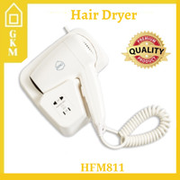 Hair Dryer Hotel Hoffmann HFM811 Pengering Rambut Gantung Tembok