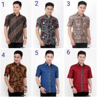 Kemeja Batik Pria Lengan Pendek | Baju batik | motif variasi