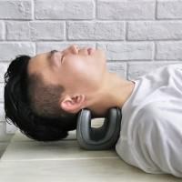 Bantal leher terapi EVA silikon nyeri leher dan sakit kepala neckangel