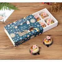 kotak kado tema natal, kotak cookies makanan tema natal, kotak x'mas