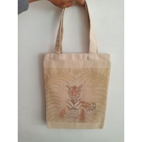 Tas Souvenir / Goodiebag / Tas Kanvas Custom Desain Sablon Full Colour