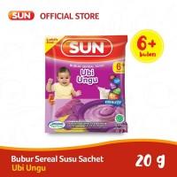 Sun Bubur Sereal Susu Ubi Ungu Sachet 20 Gr x 1 Pcs