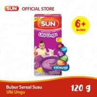 SUN BUBUR SEREAL SUSU UBI UNGU 120 GR BOX X 1 PCS