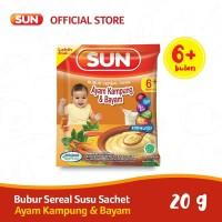 SUN BUBUR SEREAL SUSU AYAM KAMPUNG BAYAM SACHET 20 GR X 1 PCS