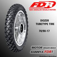 Ban FDR Dozer ukuran 70/90-17 Tubetype semi trail untuk motor bebek