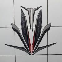 Stiker Striping Motor Yamaha New Vixion 2013 Hitam