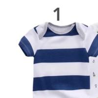 Baju Bayi Baru Lahir Newborn Jumper Jumpsuit Murah Lucu Imut Laki laki