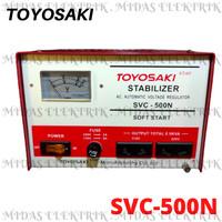AVR Stavol Stabilizer Listrik Toyosaki SVC 500 N Watt W 500Watt 500W