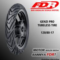Ban FDR Genzi Pro 120/80-17 Tubeless Untuk motor Sport honda yamaha