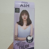 Mise En Scene Hello Cream Bubble Hair Color Cat rambut Korea Cool Ash