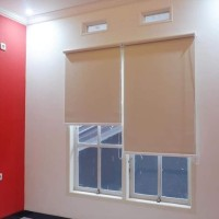 Roll blind blackout / Roller blind ,tiray gulung ( background )