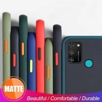Samsung A11 M11 M10 M21 M31 M30s Case Skin Feel Matte - SAMSUNG M11, HIJAU MUDA