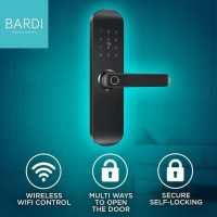Bardi Smart Home Door Lock Handle RFID-Fingerprint Waterproof IP54