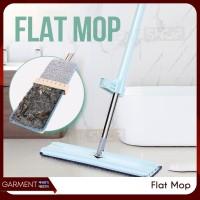 Alat Pel Lantai Flat Mop Pel Tarik Praktis Ultra Mop Hand Free