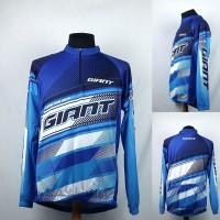 Kaos/Baju/Jersey Balap Sepeda/Gowes Giant Biru