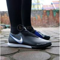 Sepatu Futsal Nike Phantom Vsn Academy IC Black Blue Original