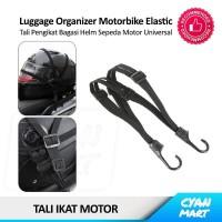 Tali Ikat Motor Jaring Bagasi Helm Sepeda Motor Elastis Serbaguna