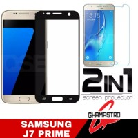 Tempered Glass Samsung J7 Prime Full Free Tempred Glass Clear