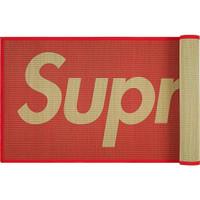 Tikar Matras SUPREME Straw Mat (avail in Red & Black)