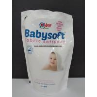 Refill Babysoft Fabric Softener Yuri 410 ml Anti Bacterial Pengharum