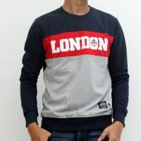 Sharks - City Series Sweater - Biru Navy [SGE1011551LL]